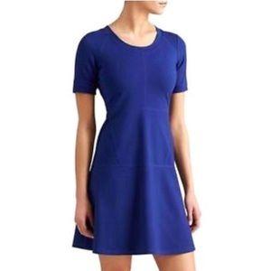 Athleta En Route Dress Blue Heather